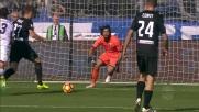 Kurtic porta in vantaggio l'Atalanta contro il Genoa