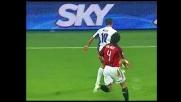 Kuzmanovic spreca tutto davanti al portiere del Milan Dida