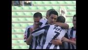 Quagliarella sblocca Udinese-Atalanta con un goal di testa