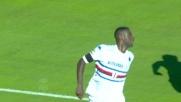 La botta di Obiang vale il raddoppio della Samp a Cagliari
