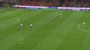 La difesa del Parma lascia a Nocerino la palla per il goal dell'1 a 0