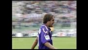 La Fiorentina va in goal con un fulmine su punizione di Batistuta