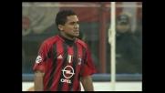 La firma di Serginho: segna il goal del 3-0 sull'Atalanta