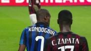La giocata di suola di Kondogbia prova a illuminare il derby di Milano