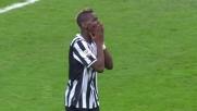 La Juventus ci prova con Pogba ma il palo gli dice di no