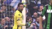 La Lazio sfiora il goal con Milinkovic-Savic: colpo di testa sulla traversa contro il Sassuolo