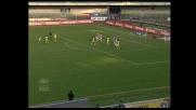 La punizione di Pellissier porta in vantaggio il Chievo contro l'Ascoli