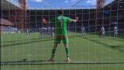 La punizione insidiosa di Dzemaili contro la Juventus