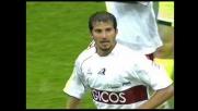 La Reggina segna il goal della bandiera con Cavalli a San Siro contro il Milan