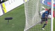 La rete di Schelotto porta in vantaggio l'Atalanta contro il Novara