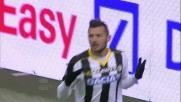 La rete di Thereau regala la vittoria all'Udinese a San Siro