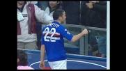 La Sampdoria cala il tris sul Messina con il goal di Tonetto