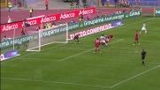La scivolata di Burdisso salva la Roma dal goal di Floccari nel derby