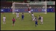 La traversa nega il goal a Morrone contro l'Udinese