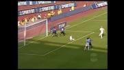 La traversa nega il goal a Rocchi