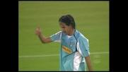 La traversa nega il goal contro il Milan a Simone Inzaghi