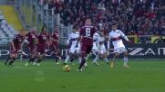 La traversa nega il goal su punizione a Farnerud