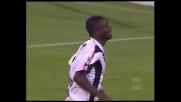 La traversa nega un gran goal a Muntari