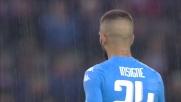 La traversa salva l'Udinese da Insigne