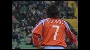 La traversa salva l'Udinese dal super destro di Guigou