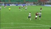 La zampata di Ibrahimovic vale il goal vittoria contro il Genoa a San Siro
