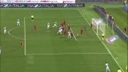 La zampata di Mauri firma il vantaggio della Lazio contro il Cagliari