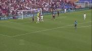 Lamanna fa buona guardia sul tiro di Luiz Adriano: il Milan non passa