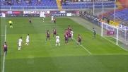 Lamanna para in tuffo un'insidiosa palla negando al Cagliari la gioia del goal