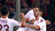 Lamela segna di sinistro il goal che chiude Genoa-Roma