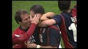 Langella calcia da fuori e trova il goal del 3-0 al Chievo