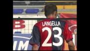 Langella prova a sorprendere Curci con la potenza: bella parata in Cagliari-Roma!