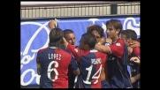 Larrivey gira in rete per il vantaggio del Cagliari sulla Lazio