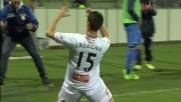Lasagna segna il goal vittoria sull'Empoli e fa esplodere il Braglia