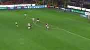Lasagna spreca un contropiede importante a San Siro contro il Milan