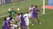 L'autogoal dell'ex Cassani regala una gioia alla Fiorentina