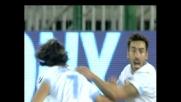 Lavezzi regala la vittoria al Napoli firmando il goal decisivo contro il Cagliari