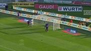 Lazzari, goal vittoria contro il Genoa