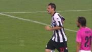 Lazzari segna il goal della bandiera contro la Juventus al Friuli