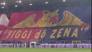 Le coreografie del derby tra Genoa e Sampdoria