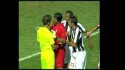 Legrottaglie abbraccia Matri che cade: rigore per il Cagliari!