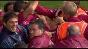 L'errore di Consigli regala goal e tre punti al Livorno