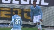 L'esecuzione perfetta di Candreva porta in vantaggio la Lazio al Bentegodi