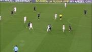Lezzerini d'istinto respinge il tiro di Lulic in Lazio-Fiorentina
