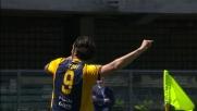 L'Hellas va in vantaggio grazie al goal dell'immortale Toni