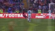 Lichtsteiner para con un braccio il tiro di Simplicio nel derby: rigore per la Roma