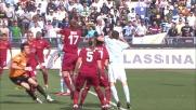 Lichtsteiner sigla il goal del 3-1 nel derby con la Roma