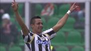 L'insaziabile Sanchez realizza il goal della quadripletta al Barbera