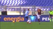 L'insidioso tiro di Nainggolan colpisce il palo nel derby