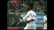L'Inter rimane con partita contro il Cagliari grazie a un goal di Martins