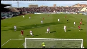 Livorno a un passo dal goal con Pulzetti: la parata di Rubinho è decisiva